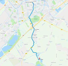 Google maps boerderij Geertje