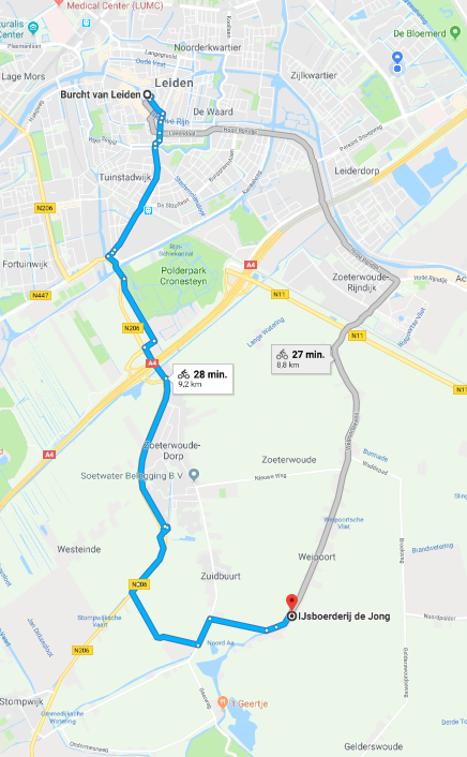 Google maps IJsboerderij