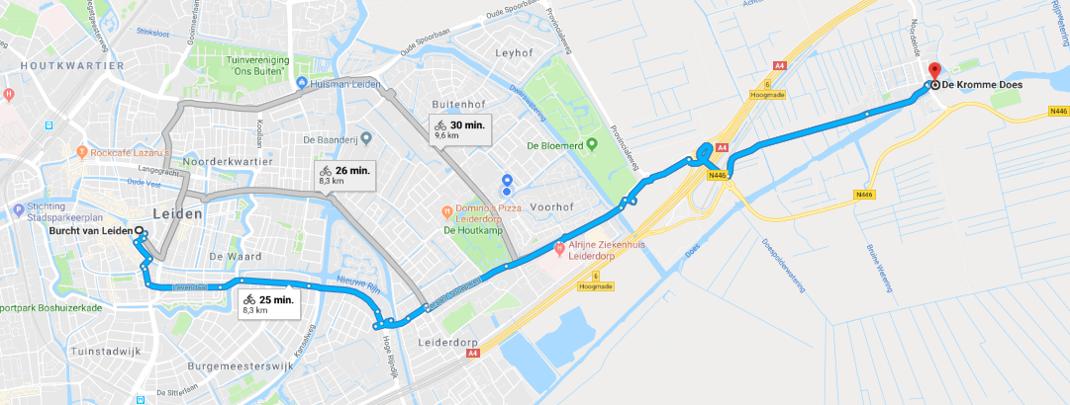 Google maps Kromme Does