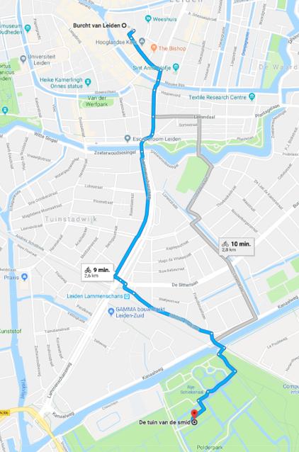 Google maps Tuin vd Smit