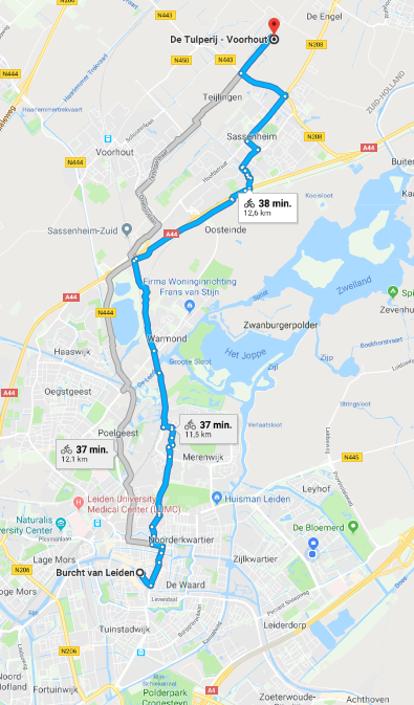 Google maps tulperij